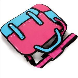 Handbags - Pop Art / Cartoon / Comic  Shoulder Bag NWOT